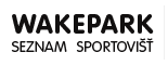 Wakepark – seznam sportovišť